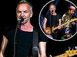 Sting and Shaggy wow concertgoers as they step out on stage for Birmingham stop of their joint tour