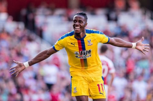 Wilfried Zaha drops transfer hint amid Arsenal interest