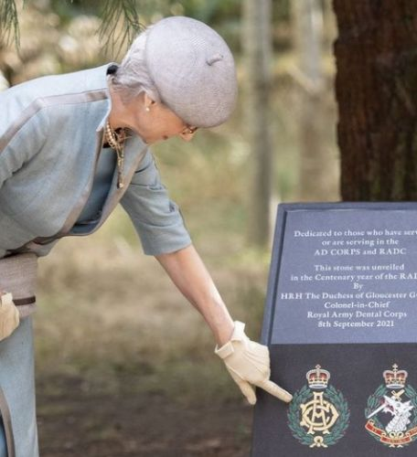 The Duchess of Gloucester marks special centenary