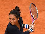 Heather Watson crashes out of French Open after losing in straight sets to Fiona Ferro