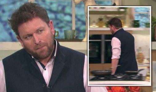 James Martin walks off set after co-star swipe 'I don't have to be here!'