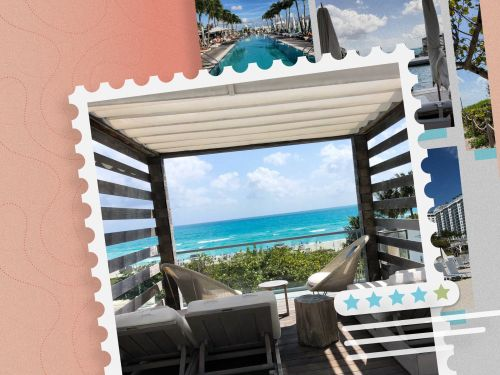 If you're going to splurge on one luxury hotel this year, consider 1 Hotel South Beach - with a private beach, 6 on-site restaurants, and 4 pools including a rooftop oasis, you'll never want to leave