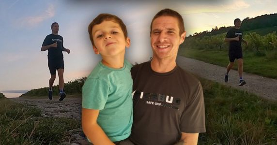 Dad takes on epic run for 'lifeline' charity that supports son, 4, with incurable epilepsy