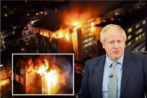 Boris Johnson urged to act on tower block cladding after Bolton students' flat fire