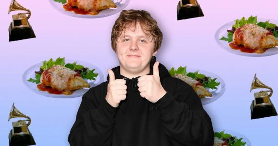 Lewis Capaldi compares Grammy nomination to being bloated on chicken parm while watching Game Of Thrones