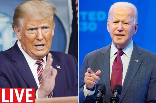 Donald Trump and Joe Biden go head to head in the first US Election debate