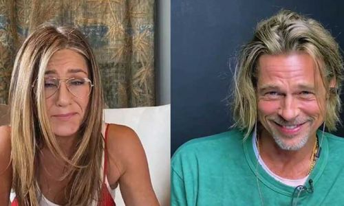 How Jennifer Aniston and Brad Pitt's epic reunion happened
