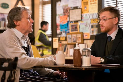 When was Roy Cropper's foster son Wayne Hayes last in Coronation Street and why did he leave?