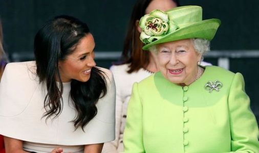 The Queen wishes Meghan Markle happy birthday as she shares memory of time as royal