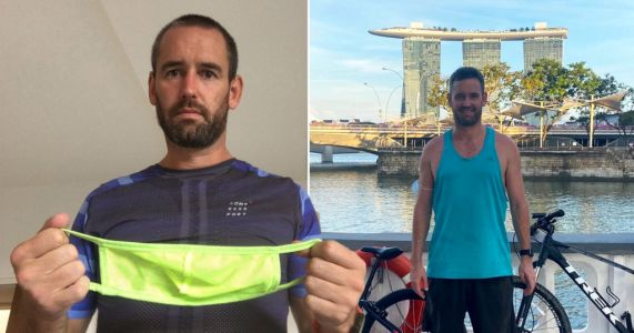 Brit dad facing six months in Singapore prison for not wearing mask on train