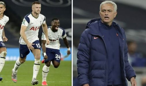 Tottenham boss Jose Mourinho explains why he ran after Eric Dier during Chelsea win