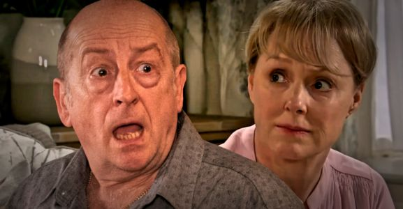 Coronation Street spoilers: Geoff Metcalfe exposed tonight as Tim catches him lashing out at Sally?