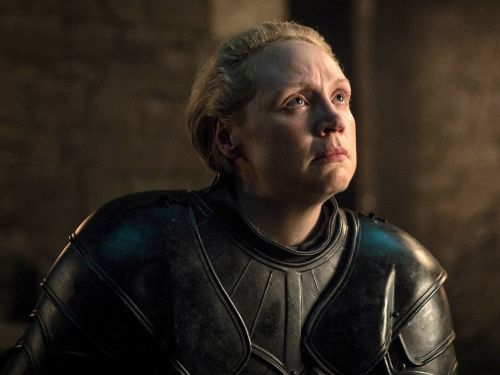 'Game of Thrones' star Gwendoline Christie says Brienne's defense of Jaime was 'like a declaration of love'