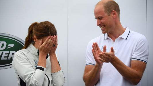 Why did William and Kate take a budget flight?
