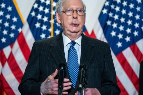 Health questions for top Republican Mitch McConnell after bruises spotted