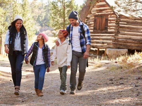 According to Vrbo, new family travel trends for 2021 include cozy cabins, waterfront getaways, and more - here are top rentals for each