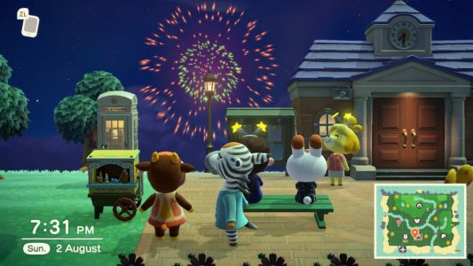 How to use fireworks in Animal Crossing: New Horizons