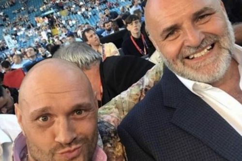 Tyson Fury's dad issues ominous warning to heavyweight rival Anthony Joshua
