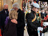 Royal fans spot photo of Prince Harry in military uniform at President Joe Biden's inauguration