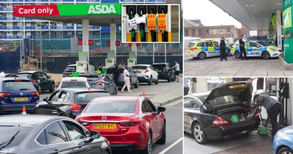 Fuel crisis spirals as up to 90% of independentpetrol stations run dry