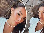 Madison Beer glams it up as she sings along with a Lana Del Rey song in her native Long Island