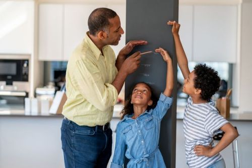 This simple sum works out how tall your child will be when they grow up