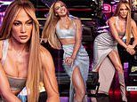 Jennifer Lopez, 52, flashes her incredibly toned legs in a daring skirt