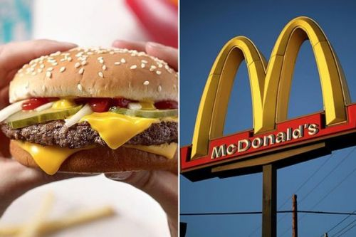 Woman gives birth in McDonald's car park then casually orders a Quarter Pounder