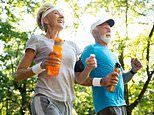 Over-65s were the only age group to become MORE active during coronavirus pandemic, says study