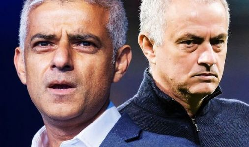 Tottenham boss Jose Mourinho furiously blasted by London Mayor Sadiq Khan