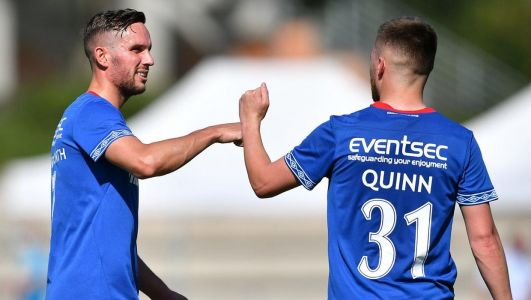 European qualifying draws LIVE: Updates as Linfield, Coleraine and Glentoran discover potential opponents