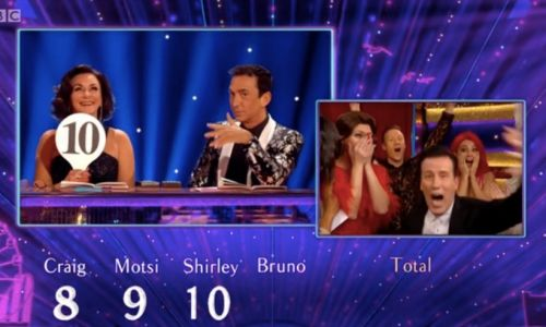 Strictly's Anton du Beke overwhelmed by first ever tens on show