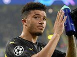 Jadon Sancho hands major boost to suitors as English winger wants to LEAVE Borussia Dortmund