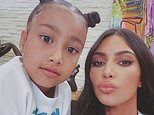 Kim Kardashian and Kanye West's daughter North West turns eight