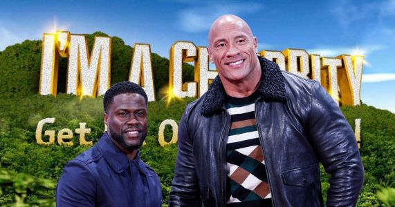 I'm A Celebrity campmates to get surprise appearance from Dwayne Johnson and Kevin Hart