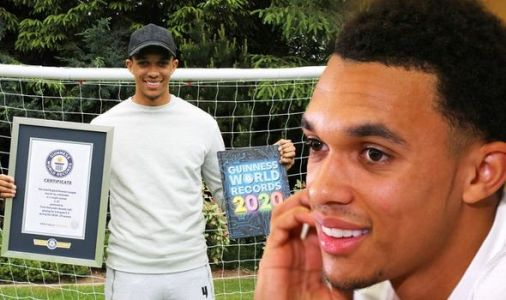 Liverpool star Trent Alexander-Arnold claims Guinness World Records spot for 2020