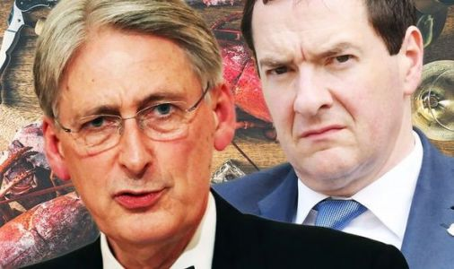 Philip Hammond's Brexit lobster lunch with George Osborne exposed