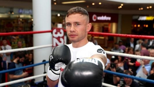This has been my favourite fight week: Frampton