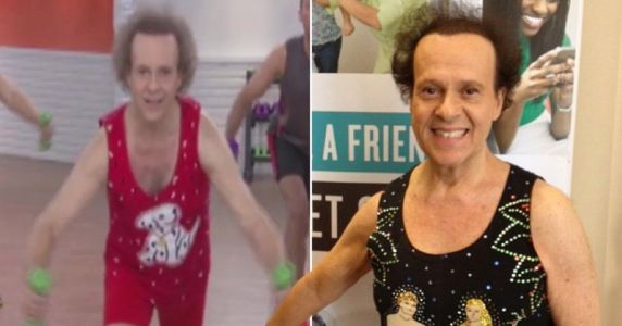 Richard Simmons stuns fans by sharing workout videos six years after last being seen in public