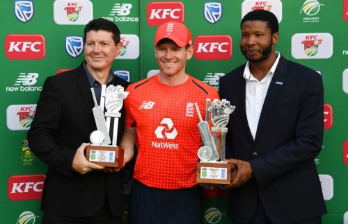 England captain Eoin Morgan tears apart South Africa bowling as brilliant chase secures 2-1 Twenty20 series victory