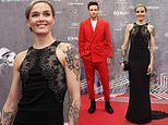 Victoria Pendleton joins Liam Payne on the red carpet at Laureus World Sports Awards