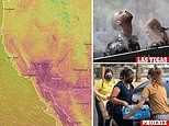 Southwest US FINALLY faces falling temperatures amid heatwave - but relief will be short-lived