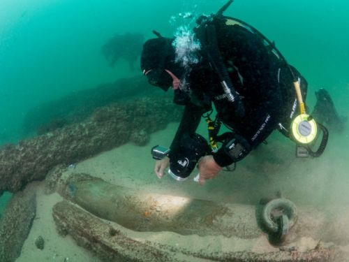 400-Year-Old Shipwreck Laden With Spices And Cannons Found Off Coast Of Portugal