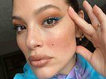 Ashley Graham reveals she's putting on 'full glam' make-up for her online business meetings