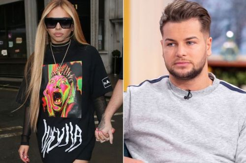 Jesy Nelson and Chris Hughes reignite romance rumours as they jet off on HOLIDAY