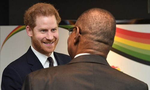Prince Harry attends what could be his final engagement before moving to Canada: photos