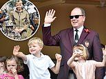 Prince Albert of Monaco appears without Princess Charlene AGAIN
