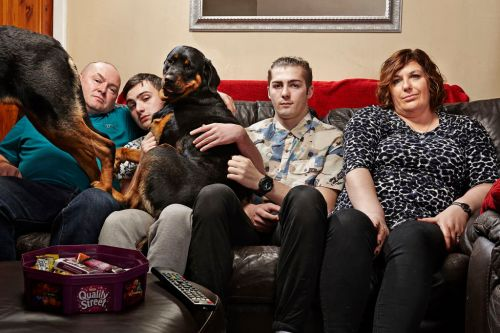 Gogglebox stars The Malone family return to TikTok with iconic Wipe It Down challenge and we're obsessed