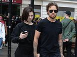 Liam Payne, 26, and girlfriend Maya Henry, 19, arrive in Hyde Park for London protests