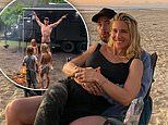 Chris Hemsworth shares pictures of his family camping trip in Queensland